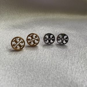 SILVER ONLY Tory Burch Studs